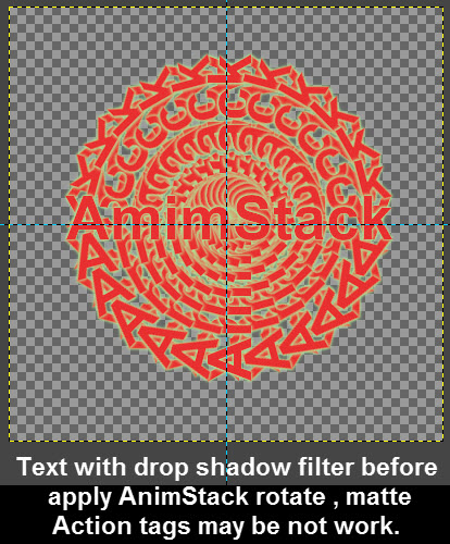 gimp_animation_AnimStack_text_apply_drop_shadow_before_rotate_because_matte_action_tag_not_work